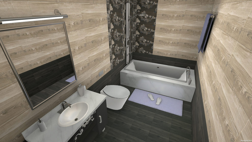 Bathroom from VisualEz Tile Visualiser, Most Innovative and successful tile visualizer in PAN India Market